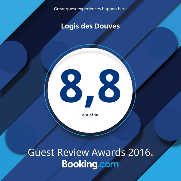 La note d'excellence de BOOKING      ..      8.9